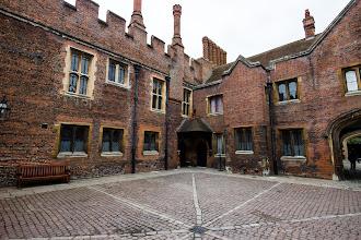 Photo: Courtyard in Hampton Court