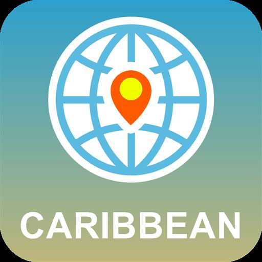旅游のカリブ海 地図オフライン LOGO-記事Game