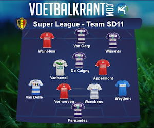 Ons team van speeldag 11 in de Super League ziet er als volgt uit