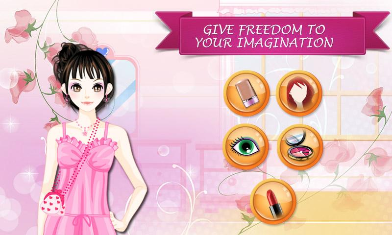 android Young Lady: Makeover Game Screenshot 2