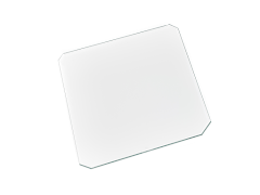 CLEARANCE - Borosilicate Glass Plate (218mm x 218mm)