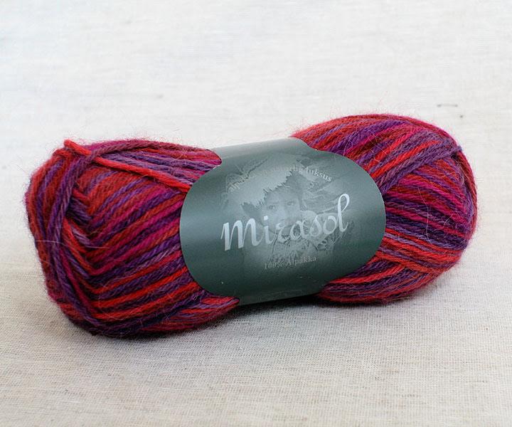 Du Store Alpakka - Mirasol Handmålat Färg 2070