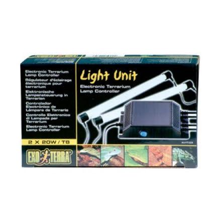 ExoTerra Light Unit 2x20W Lysrörshållare