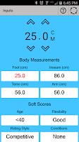 Screenshot of Fit Kit Calculator