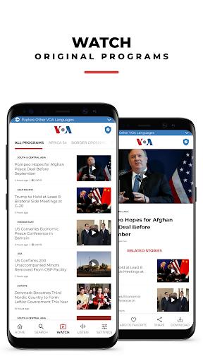 VOA News 4.1.5 Screenshots 3