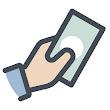 Mobilny kalkulator wynagrodzeń Free icon