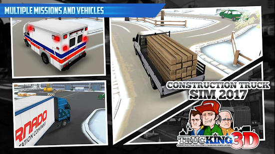 Construction Truck Sim 2017- screenshot thumbnail