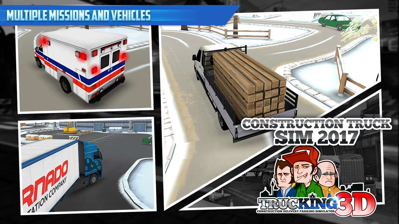 Construction Truck Sim 2017- screenshot