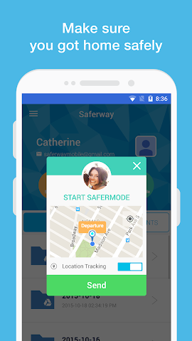 android Family locator Saferway Screenshot 5