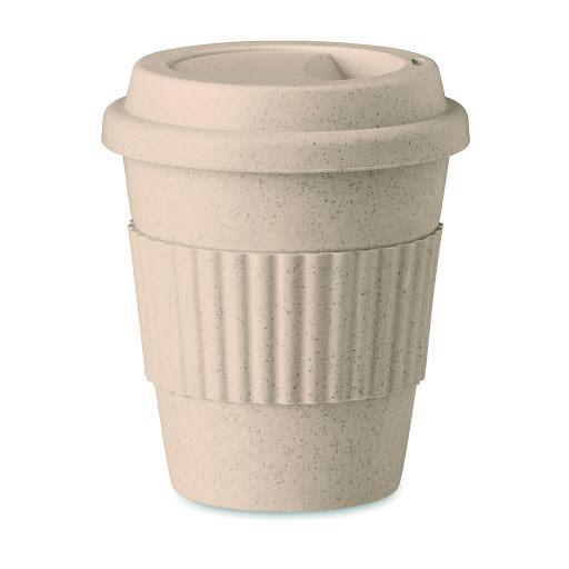 Custom Printed Bamboo Takeaway Cups   Promotional Bamboo Mugs