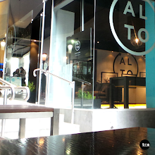 Photo: real estate suite interior fitout | signage, printed media, wallpaper, image graphics, window logo and text decals, wall logo and text decals, picture hanging. #wallpaper #phototex #decals #digitalprint #CaramelCreative #AltoApartments