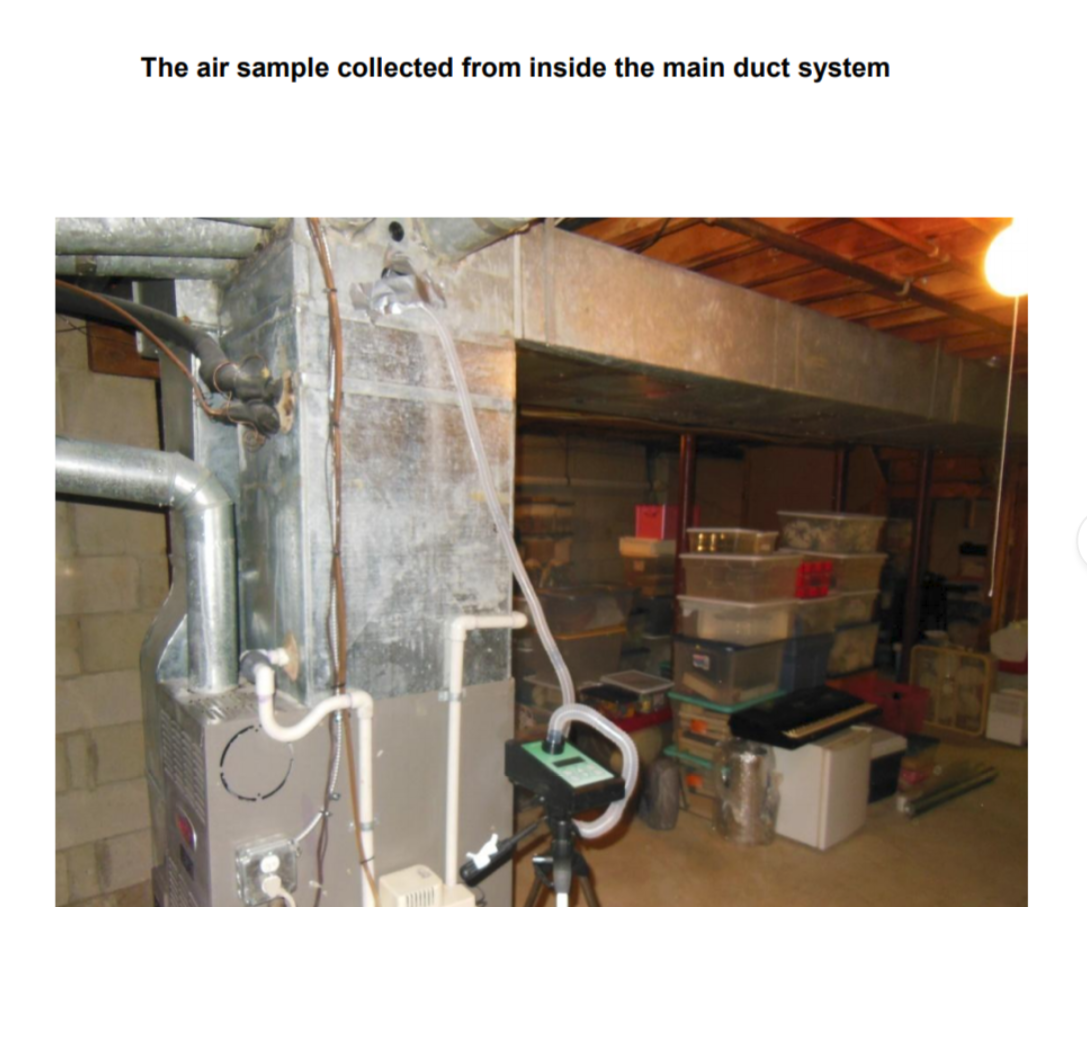 Irreversible HVAC Contamination