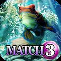 Match 3: Underwater Garden icon