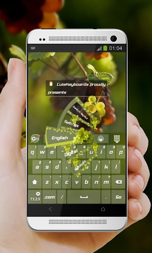 個人化必備免費app推薦|吃不到葡萄說葡萄酸 GO Keyboard Theme線上免付費app下載|3C達人阿輝的APP