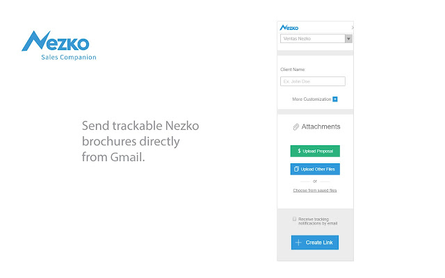 Nezko - Trackable Sales Brochures