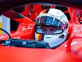 Sebastian Vettel wint tweede vrije training in Hongarije op nat wegdek