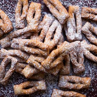 Russian Twig Cookies (Khvorost)