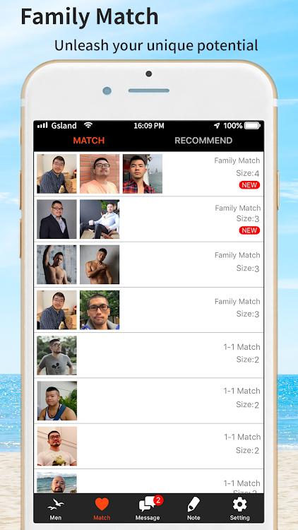 Κορεατικό ημερολόγιο γνωριμιών app