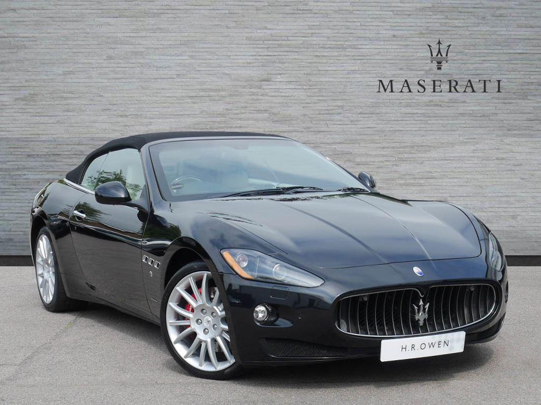 Maserati Grancabrio Sport Hire London