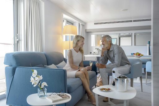 Ponant-Le-Lyrial-onboard.jpg - A look at a stylishly furnished stateroom on Ponant's Le Lyrial.
