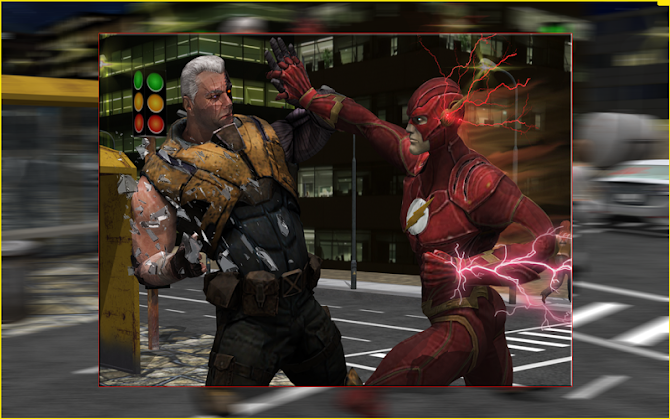 Flash Boy Hero Lightning Strike Android 10