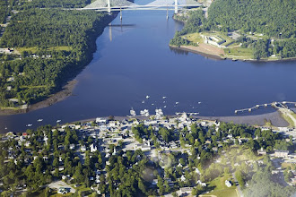 Photo: Buckport and Penobscot River