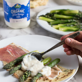 Benefits of Organic Milk and Crepes with Asparagus & Bechamel Sauce Recipe