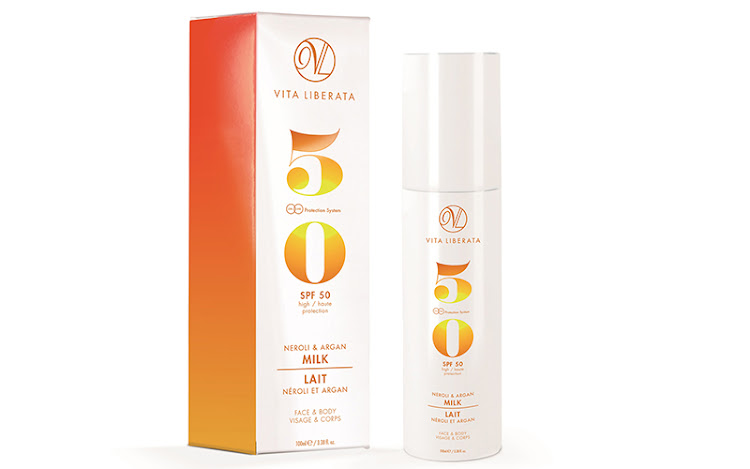 Vita Liberata Neroli and Argan Milk SPF 50