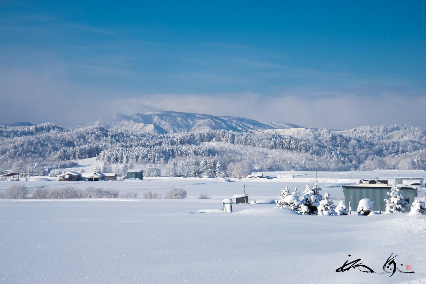 氷点下の風景