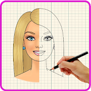 Learn How To Draw Barbie icon