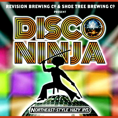 Logo of Revision Disco Ninja N.E. Style Hazy IPA