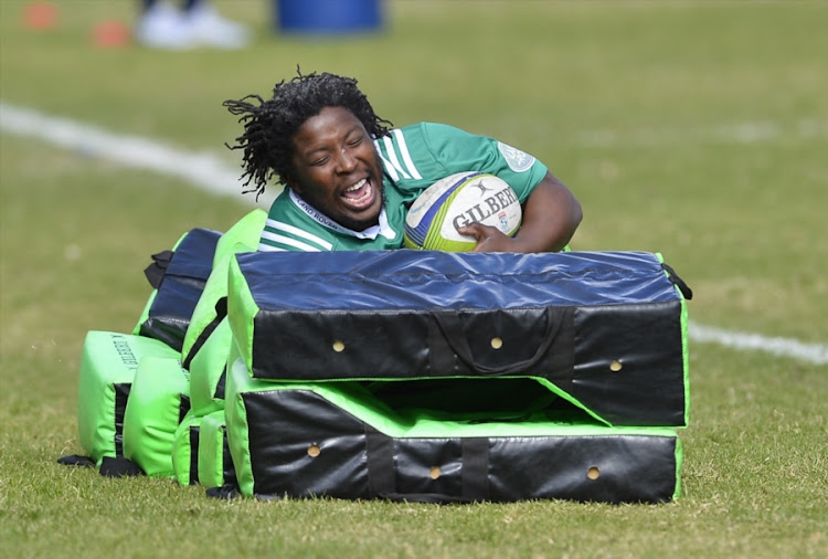 Scarra Ntubeni during the DHL Stormers training session at High Performance Centre on July 18, 2017 in Cape Town, South Africa.
