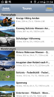 GPS-Tracks für Android – Miniaturansicht des Screenshots