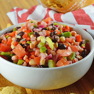 Cowboy Caviar Dip.