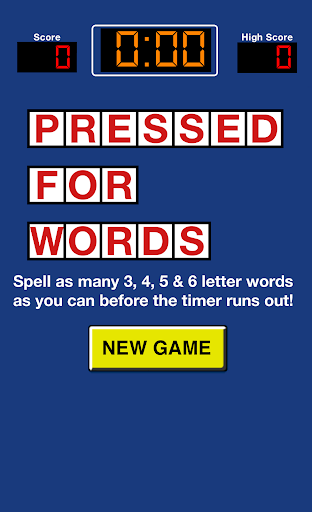 Pressed For Words Screenshot