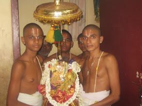 Photo: Nachiyar kai thalam bfor purappadu