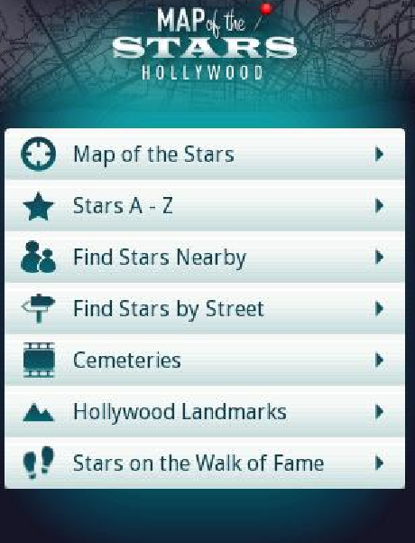 Map of the Stars Hollywood  Android Apps on Google Play