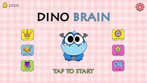 Dino Brain: Brain It On - Draw Physics Line apkpoly screenshots 1