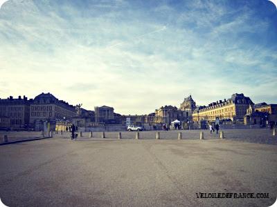 Circuit à vélo dans Versailles et son parc