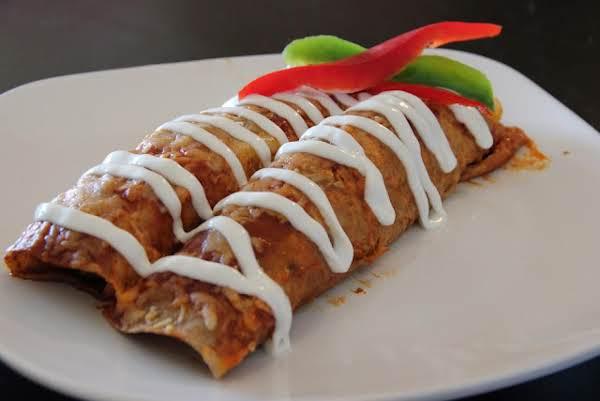 Chicken & Peppers Enchiladas
