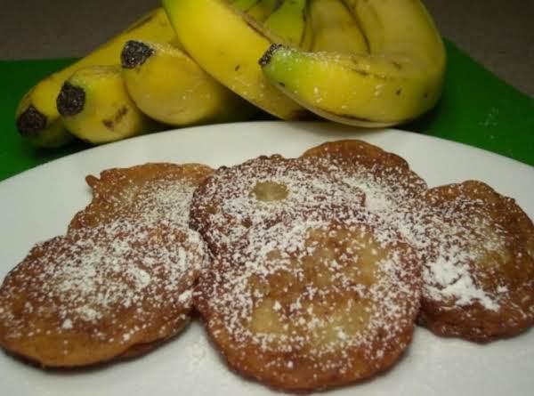 Banana Rum Fritters Recipe