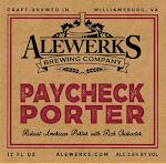 Alewerks Paycheck Porter