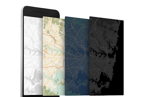 Custom map styling with the Google Maps APIs on Android and iOS