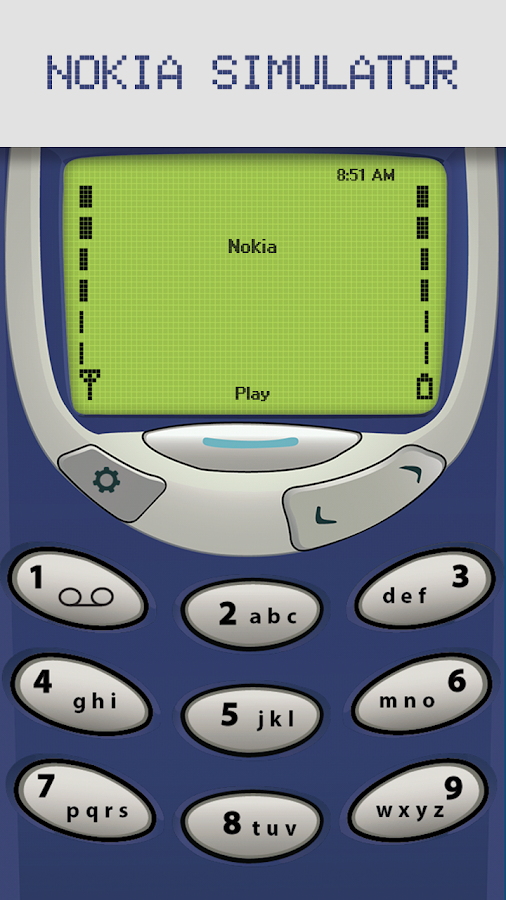 Classic Snake - Nokia 97 Old- screenshot