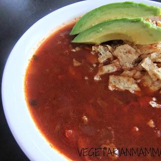 Tortilla Soup – #glutenfree #vegan