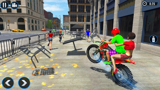 Extreme Rooftop Bike Rider Sim : Bike Games apktram screenshots 2