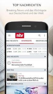 ntv Nachrichten - náhled