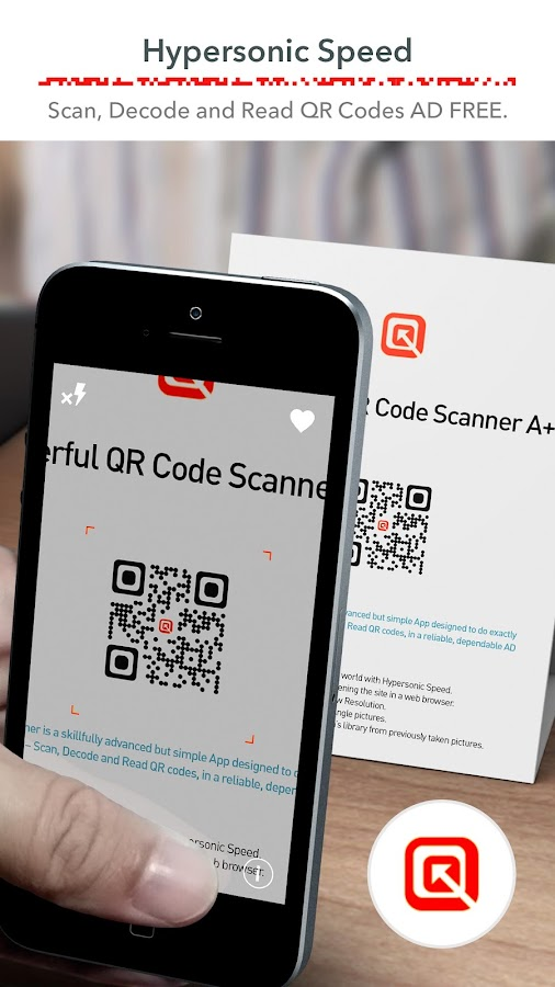QR Code Scanner (Recommended) Free, FAST & No ADS- screenshot