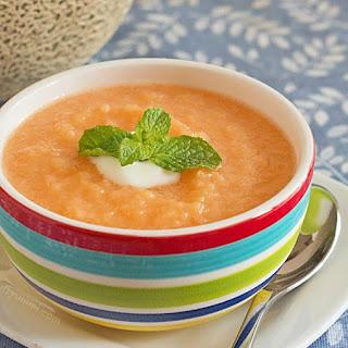 Chilled Cantaloupe Soup