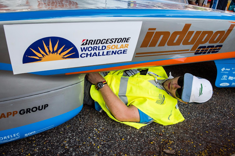 Bridgestone World Solar Challenge 2013